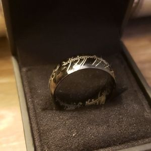 Men's LOTR One Ring Wedding Band